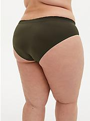 Olive Green Adventure Awaits Seamless Hipster Panty, ADVENTURE AWAITS, alternate