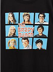 The Brady Bunch Slim Fit Tee - Black, DEEP BLACK, alternate