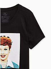 I Love Lucy Slim Fit Tee, DEEP BLACK, alternate