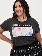 Golden Girls Talk Classic Fit Tee - Black, DEEP BLACK, hi-res
