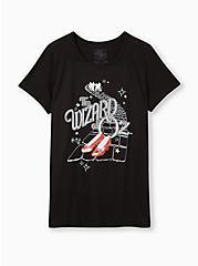 The Wizard of Oz Slim Fit Crew Tee - Black, DEEP BLACK, hi-res