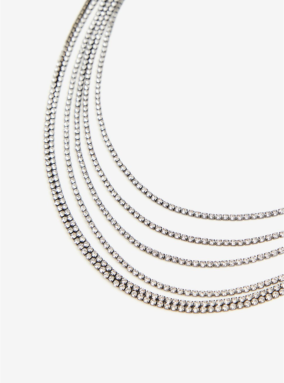 Hematite Layered Necklace, , hi-res