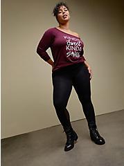 Premium Legging - Mesh Back Panel Black, BLACK, alternate