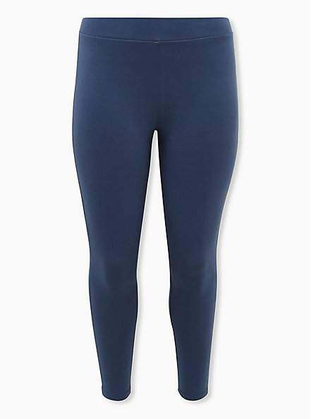 Premium Legging - Vintage Indigo, BLUE, hi-res