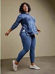 Plus Size Premium Legging - Vintage Indigo, BLUE, hi-res