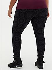 Premium Legging - Zodiac Tile Black, MULTI, alternate
