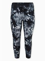 Platinum Legging - Fleece Lined Tie-Dye Black, MULTI, hi-res