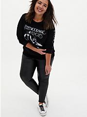 Fleetwood Mac Rumours Black Fleece Sweatshirt , DEEP BLACK, alternate