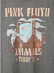 Pink Floyd Classic Fit Crew Tee - Heather Grey , MEDIUM HEATHER GREY, alternate