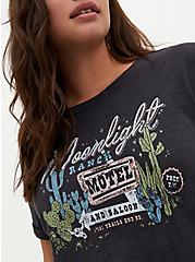 Relaxed Tee - Heritage Slub Moonlight Ranch Vintage Black, DEEP BLACK, alternate