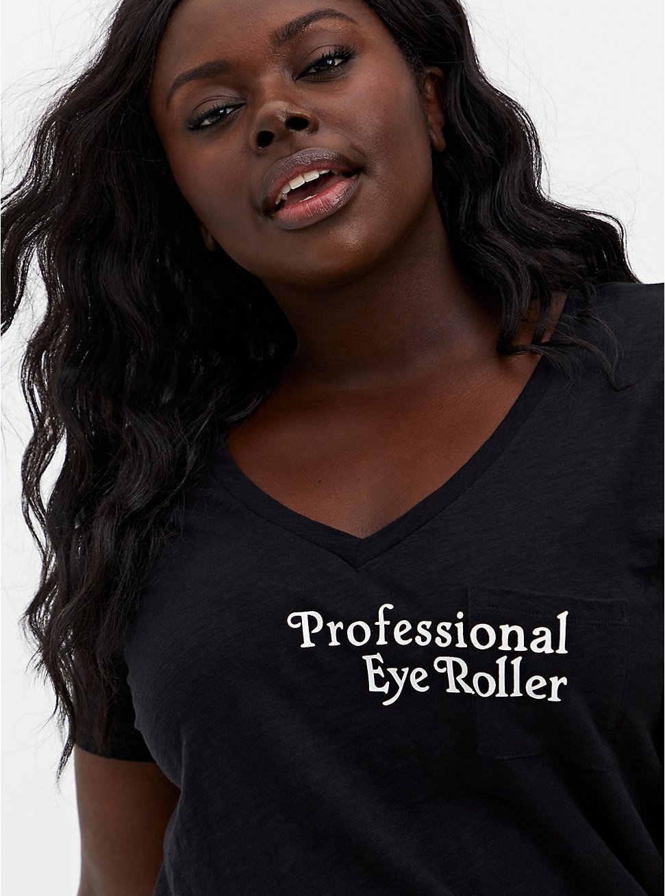Pocket Tee - Heritage Slub Professional Eye Roller Black, DEEP BLACK, hi-res