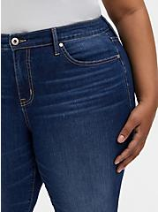 Crop Mid Rise Flare Jean - Vintage Stretch Medium Wash, PRIMO, alternate