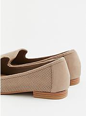 Taupe Nubuck Perforated Loafer (WW), TAN/BEIGE, alternate