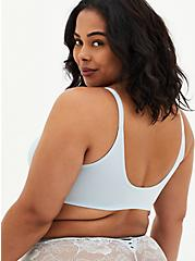Baby Blue 360° Back Smoothing™ Front Closure Lightly Lined T-Shirt Bra, BABY BLUE, alternate