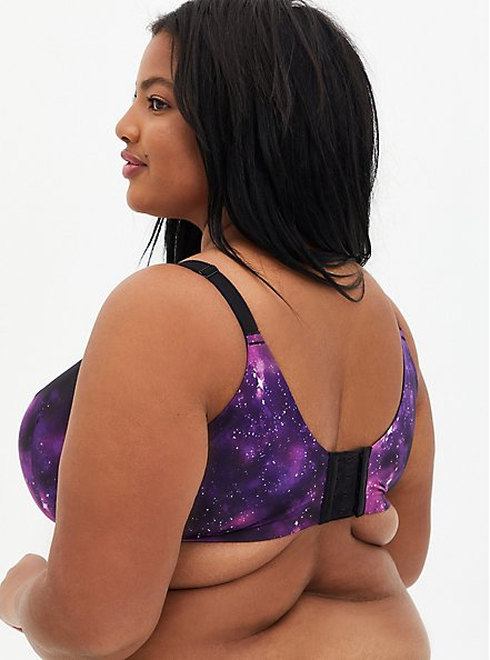 Galaxy 360° Back Smoothing™ Lightly Lined Wire-Free Bra, GALAXY, alternate
