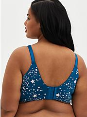 Blue Shooting Star 360° Back Smoothing™ Lightly Lined Wire-Free Bra , MOROCCAN BLUE, alternate