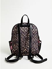 Betsey Johnson Leopard & Mixed Floral Backpack, , alternate
