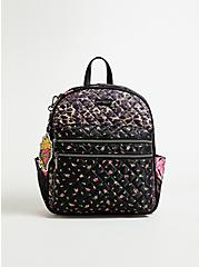 Betsey Johnson Leopard & Mixed Floral Backpack, , hi-res
