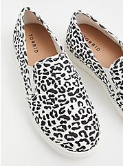 Leopard Print Slip-On Sneaker (WW), ANIMAL, alternate