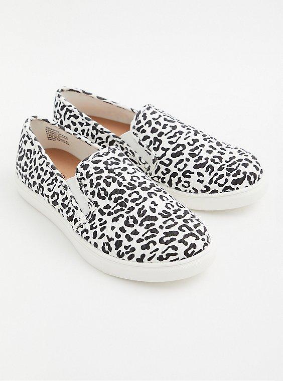 Leopard Print Slip-On Sneaker (WW), , hi-res