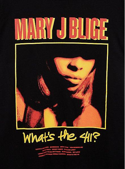 Classic Fit Crew Tee - Mary J Blige Black , DEEP BLACK, alternate