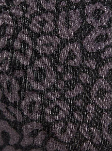 Classic Fit Crop Sleep Jogger - Super Soft Plush Leopard Black, MULTI, alternate