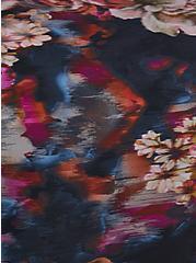 Rose Floral Wireless Swim Top, MULTI, alternate
