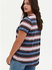 Pocket Tee - Heritage Cotton Multi Stripe, , alternate