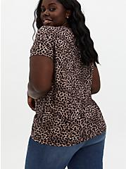 Relaxed Tee - Heritage Cotton Leopard, LEOPARD, alternate