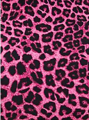 Pink Leopard Crop Active Swim Legging, DEEP BLACK, alternate