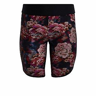 Rose Floral Active Swim Bike Short