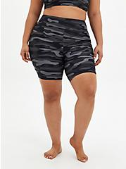 Grey Camo Active Swim Bike Short, MULTI, hi-res