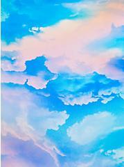 Multi Sky High Waist Lattice Swim Bottom, MULTI, alternate