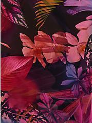Leaves Maxi Kimono Swim Cover-Up , MULTI, alternate