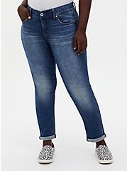 Bombshell Straight Jean - Premium Stretch Medium Wash, , fitModel1-alternate