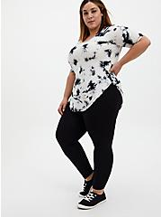 Premium Legging - Foldover Waistband Black, BLACK, alternate