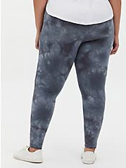Premium Legging - Tie-Dye Dark Grey, GREY, alternate