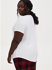 Slim Fit Pocket Tee - Super Soft White, BRIGHT WHITE, alternate
