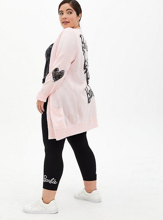 Barbie Black Crop Legging, , hi-res