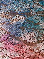 White Tie Dye Lace Bralette , TIGER DYE, alternate
