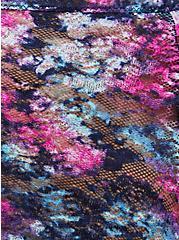 Black Tie Dye Lace Bralette, TIGER DYE, alternate
