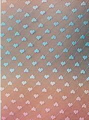 Pink Ombre Ruffle Trim Underwire Thong Bodysuit, , alternate