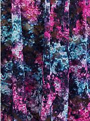 Black Tie-Dye Lace Babydoll, TIGER DYE, alternate