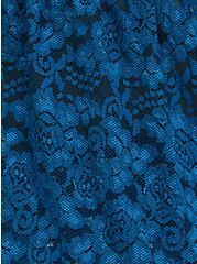Blue Lace Babydoll, MOROCCAN BLUE, alternate
