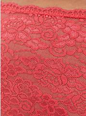 Bright Berry Lace Cheeky Panty, TEA BERRY, alternate