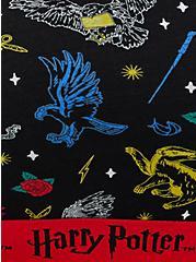 Harry Potter House Symbols Scoop Neck Cotton Bralette , , alternate