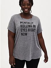 Rolling Eyes Relaxed Fit Crew Tee - Triblend Grey, MEDIUM HEATHER GREY, hi-res