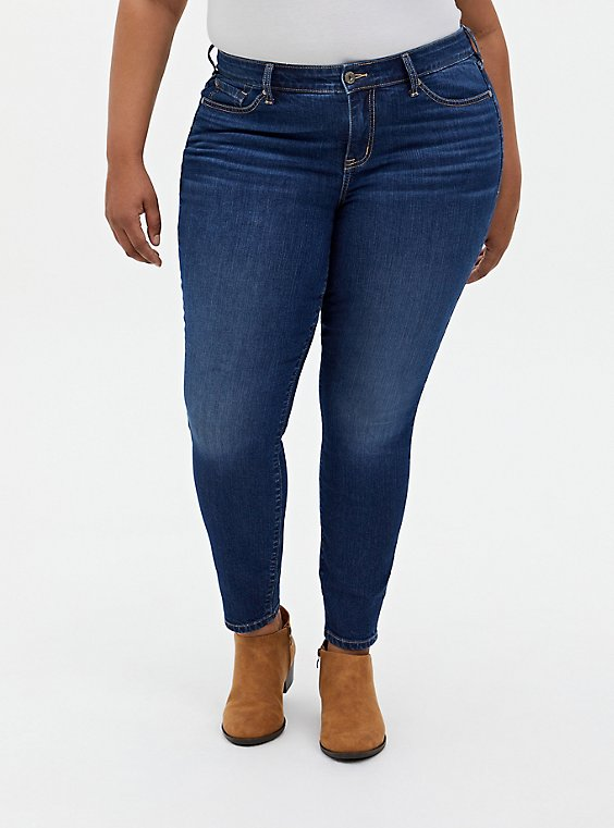Mid Rise Skinny Jean - Vintage Stretch Medium Wash, PRIMO, hi-res