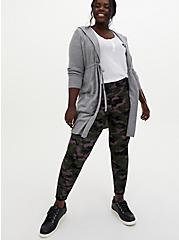 Studio Premium Ponte Slim Fix Pull-On Pixie Pant - Camo Dusty Purple, CAMO, alternate