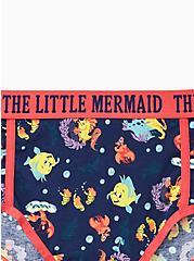 Disney The Little Mermaid Multi Sebastian & Flounder Cotton Cheeky Panty, MULTI, alternate